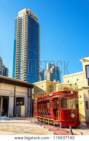 Dubai Trolley, A Double-deck Heritage-style Open-top Tram