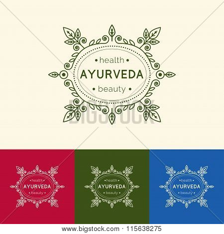 Template For Ayurvedic Clinic Or Center.