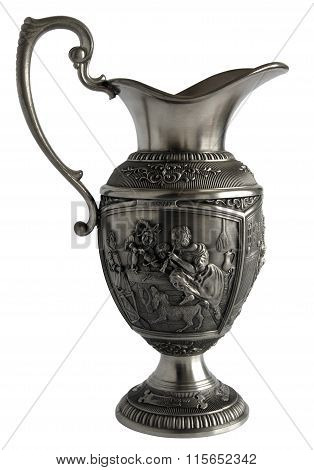 Old Pewter Pitcher