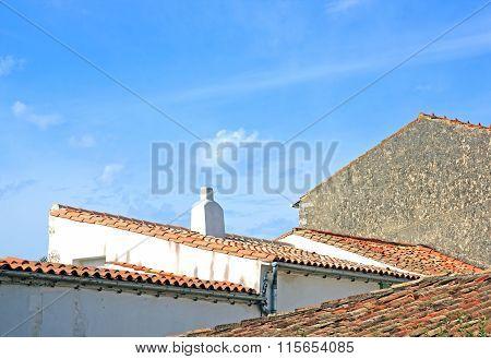 Saint Martin de Ré roofs (La Rochelle France)