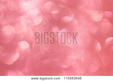 Wonderful Romantic Soft Pink Bokeh Background