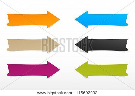 The Blank Arrows Set