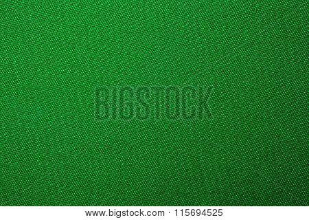 Green Biliard Cloth Color Texture Close Up
