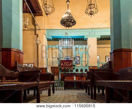 Ibn Danan Synagogue In Mellah. Fez El Jdid, Morocco.