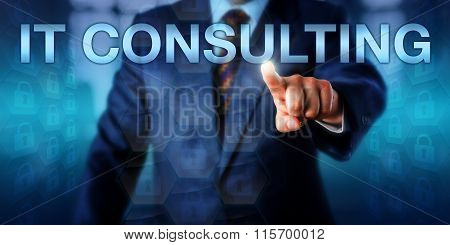 Business Manager Pressing It Consulting Onscreen