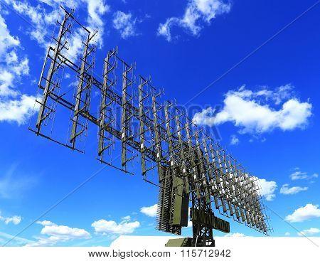 All around antenna on a mobile rotating platform