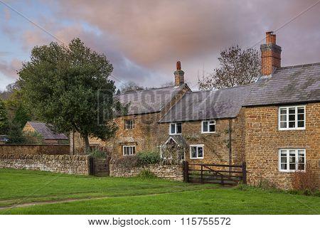 Warwickshire village, England