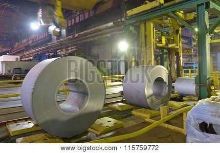 Galvanized Role Steel