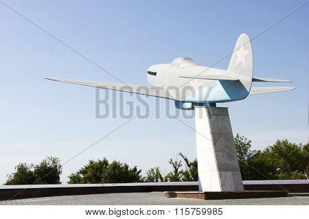 The Yak-3. Volgograd, Russia