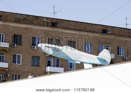 The Yak-3. Volgograd, Russia