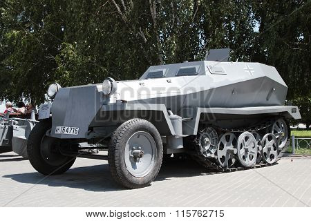 German Armored Personnel Carrier. Volgograd, Russia