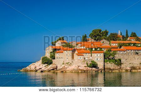 Sveti Stefan island