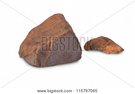 Two Pieces Of Iron Ore