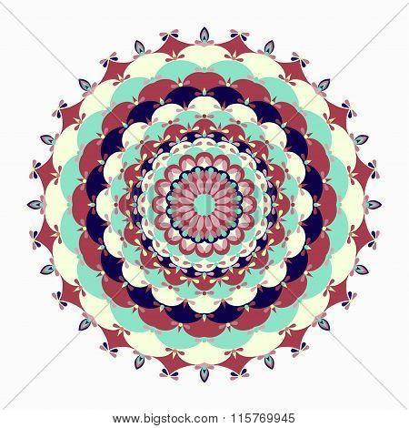 Mandala. Vintage Decorative Elements.