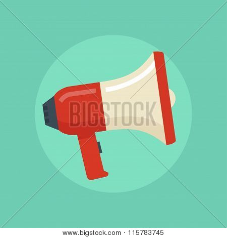 Loudspeaker Vector Illustration