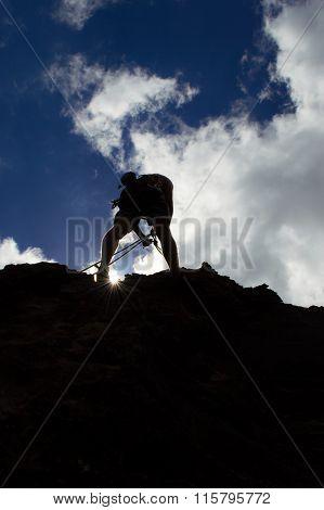 climbing 90 degrees
