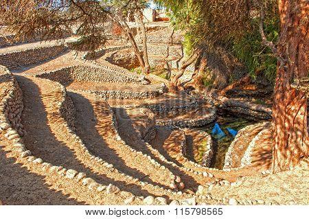 Inka watering system