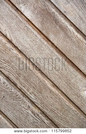 Wooden Slats On The Wall