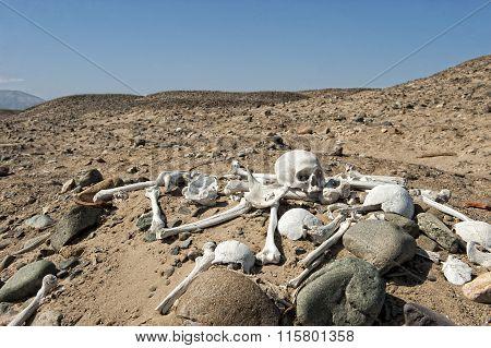 Inka cemetery