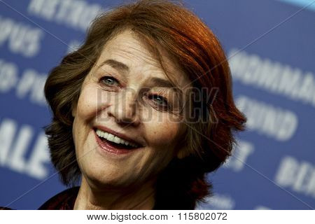BERLIN, GERMANY - FEBRUARY 12: Charlotte Rampling attends the 'I, Anna' Press Conference mduring of the 62nd Berlin Film Festival at the Grand Hyatt on February 12, 2012 in Berlin, Germany