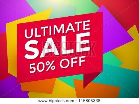 Ultimate Sale Banner Design