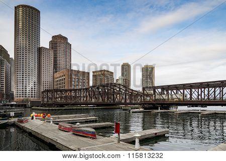 Portrait of Boston Downtown
