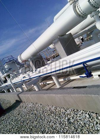Heat Exchangers In A Refinery