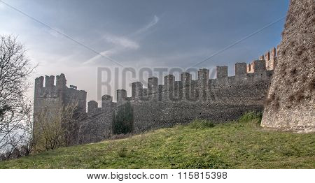 The Castle of Soave