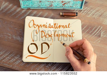 Business Acronym Od Organizational Development