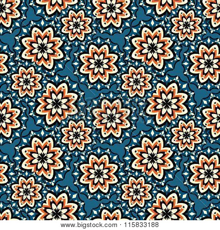 Beautiful Seamless Pattern. Vintage Elements