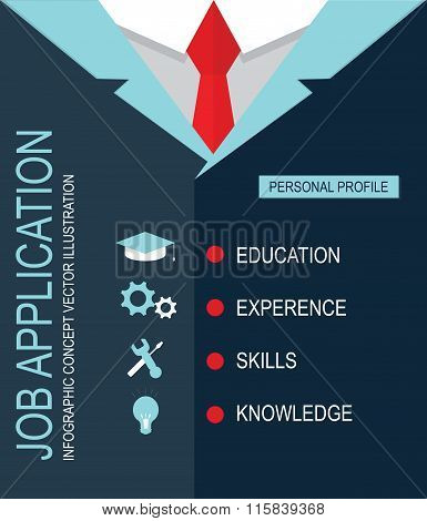 Job Application Personal Profile.