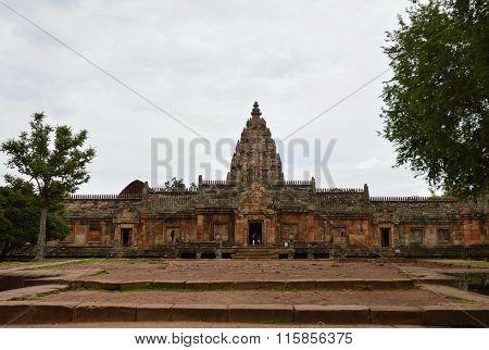 Phanom Rung stone castle in Thailand