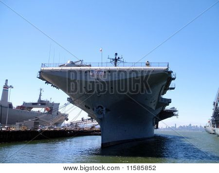 Historic Uss Hornet Aircraft Carrier