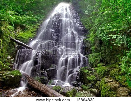 Water Fall on Wahkeena Creek