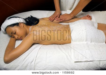 Sea Salt Scrub Massage Rub