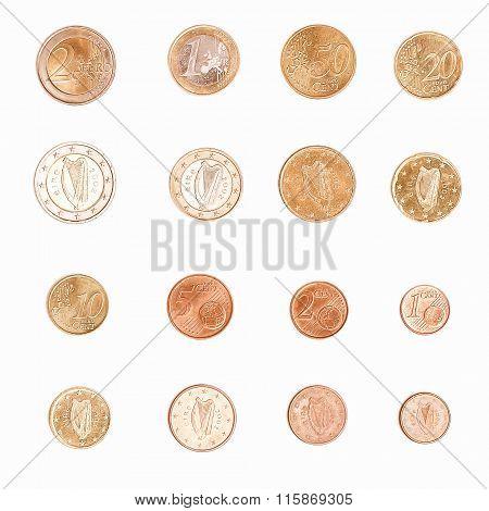 Euro Coin - Ireland Vintage