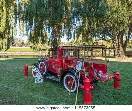 1930 Ford Model A Fire Truck