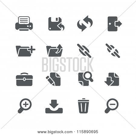 Web and Software Development icons // Utility Series
