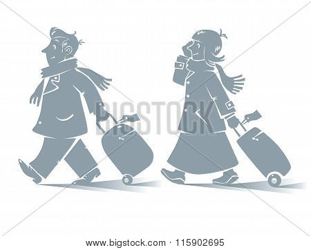 Funny air passengers