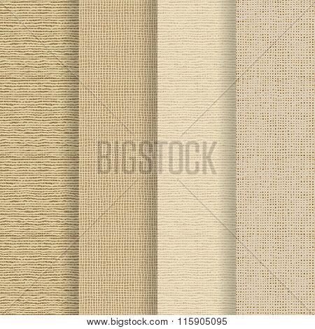 Set Of 4 Seamless Textures
