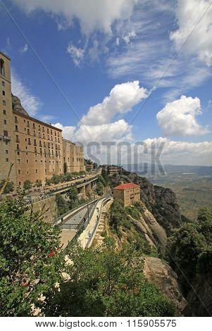 Montserrat, Spain - August 28, 2012: Station