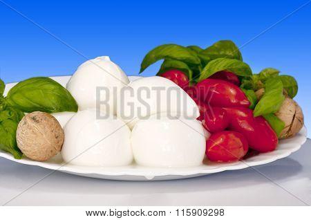 Italian Food Bocconcini Of Buffalo