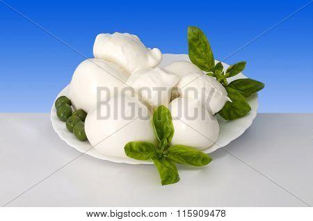 Italian Food Scamorza Of Buffalo