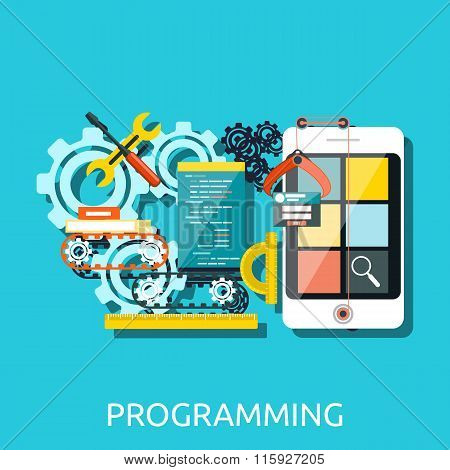 App Development Programming Concept