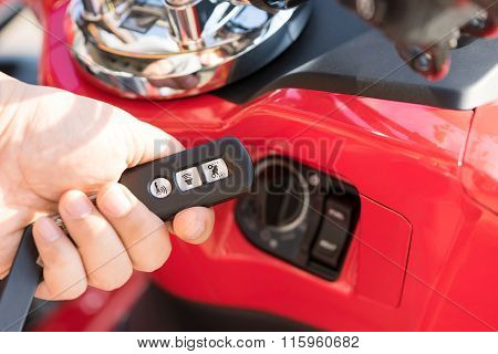 Smart Remote Smart Key for motorcycle