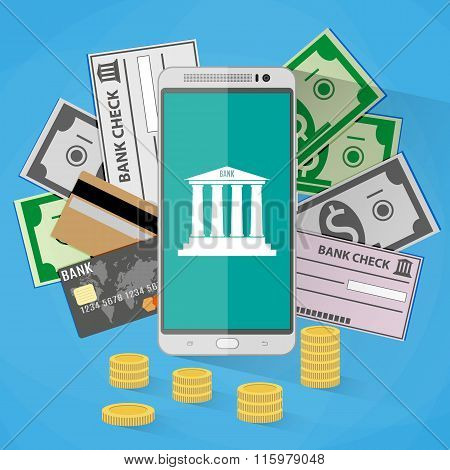 concept for mobile banking