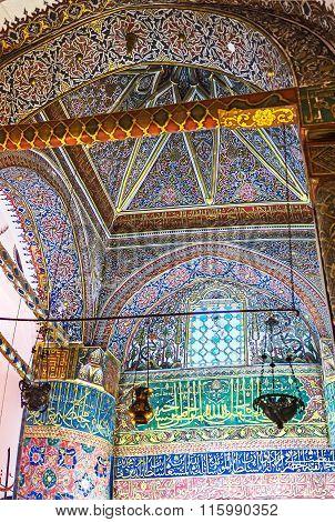 The Dome Of Mevlana Mausoleum