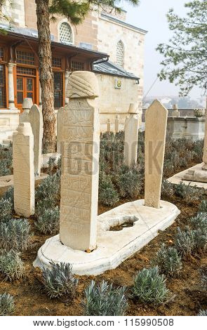 The Cemetery Of Mevlana Museum