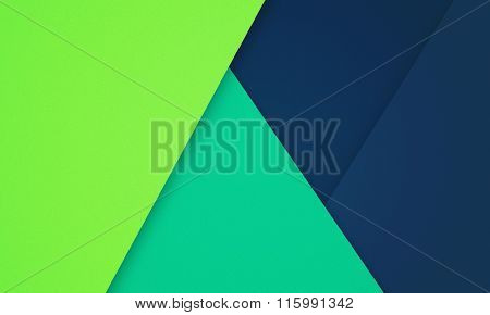Geometrical Paper-like  Modern creative horisontal colorful material design background