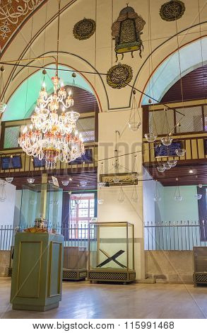 The Sema Hall Of Mevlana Museum